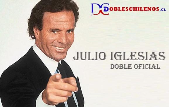 Doble oficial de Julio Iglesias